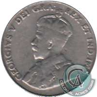 1936 Canada 5-cents Very Good (VG-8)