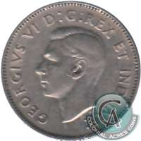 1939 Canada 5-cents Circulated