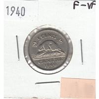 1940 Canada 5-cents F-VF (F-15)