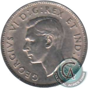 1941 Canada 5-cents Extra Fine (EF-40)
