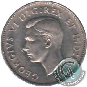 1941 Canada 5-cents Almost Uncirculated (AU-50)