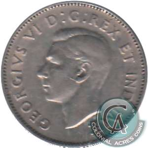 1942 Nickel Canada 5-cents Circulated