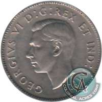 1942 Nickel Canada 5-cents EF-AU (EF-45)