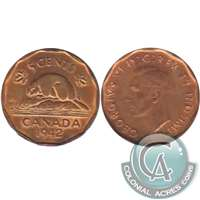 1942 Tombac Canada 5-cents VF-EF (VF-30)