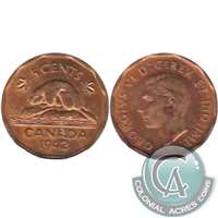 1942 Tombac Canada 5-cents Almost Uncirculated (AU-50)