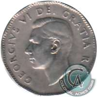 1948 Canada 5-cents Very Fine (VF-20)