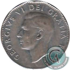1951 Canada 5-cents Circulated