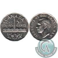 1951 Refinery Canada 5-cents Almost Uncirculated (AU-50)