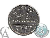 1951 Refinery Canada 5-cents Circulated