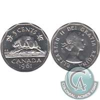1961 Canada 5-cents Proof Like