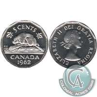 1962 Canada 5-cents Proof Like