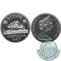 1965 Canada 5-cents Proof Like