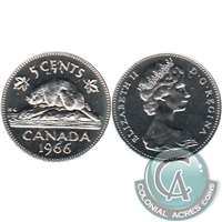 1966 Canada 5-cents Proof Like