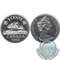 1968 Canada 5-cents Proof Like