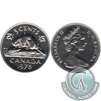 1978 Canada 5-cents Proof Like