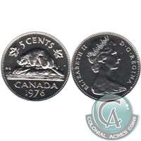 1976 Canada 5-cents Proof Like