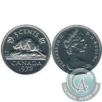 1972 Canada 5-cents Proof Like