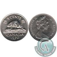 1970 Canada 5-cents Brilliant Uncirculated (MS-63)