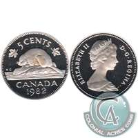 1982 Canada 5-cents Proof