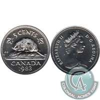 1983 Canada 5-cents Proof Like
