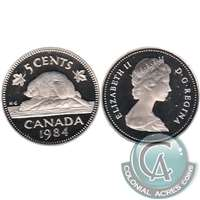 1984 Canada 5-cents Proof