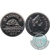 1986 Canada 5-cents Proof Like