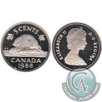 1988 Canada 5-cents Proof