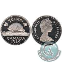 1989 Canada 5-cents Proof
