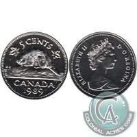 1989 Canada 5-cents Proof Like