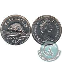 1989 Canada 5-cents Brilliant Uncirculated (MS-63)