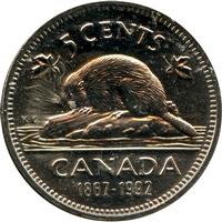 1992 Canada 5-cents Proof