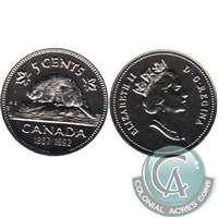 1992 Canada 5-cents Proof Like