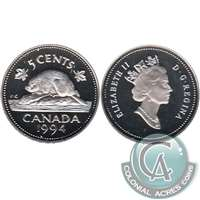 1994 Canada 5-cents Proof
