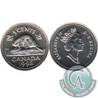 1998 Canada 5-cents Proof Like