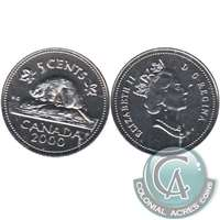 2001P CANADA 5 CENTS PROOF-LIKE COIN