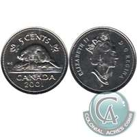 2001P Canada 5-cents Proof Like