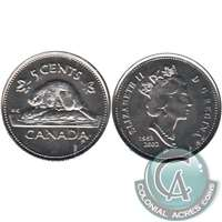 2002P Canada 5-cents Brilliant Uncirculated (MS-63)