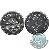 2003P Canada Old Effigy 5-cents Proof Like