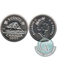 2003P Canada Old Effigy 5-cents Specimen