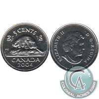 2004P Canada 5-cents Proof Like