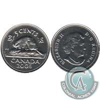 2005P Canada 5-cents Proof Like