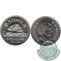 2006 Canada 5-cents Brilliant Uncirculated (MS-63)