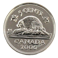 2006 Canada Logo 5-cents Proof Like