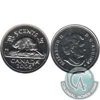 2006P Canada 5-cents Proof Like