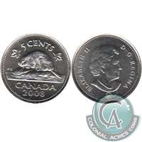 2008 Canada 5-cents Brilliant Uncirculated (MS-63)