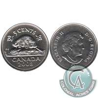 2008 Canada 5-cents Proof Like