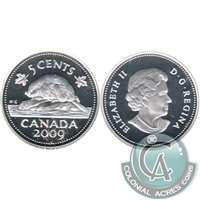 2009 Canada 5-cents Silver Proof