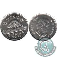 2009 Canada 5-cents Brilliant Uncirculated (MS-63)