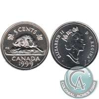 1995 Canada 5-cents ICCS Certified MS-66