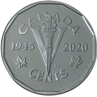 2020 Victory Canada 5-cents Silver Proof (No Tax)